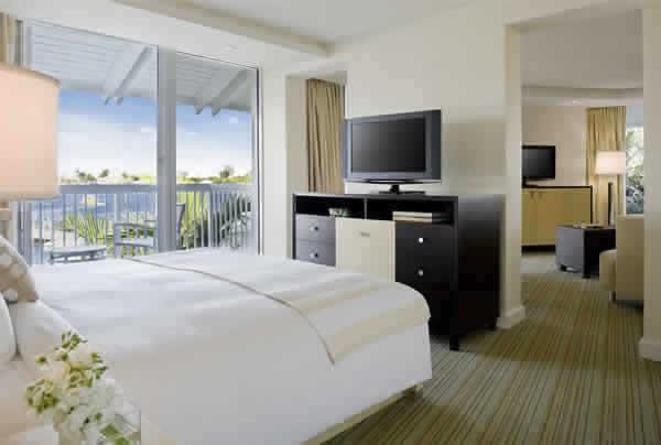 Hilton Fort Lauderdale Marina suite